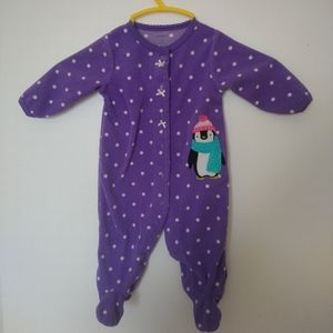 3/10$ CARTERS baby girl pajama 3 months